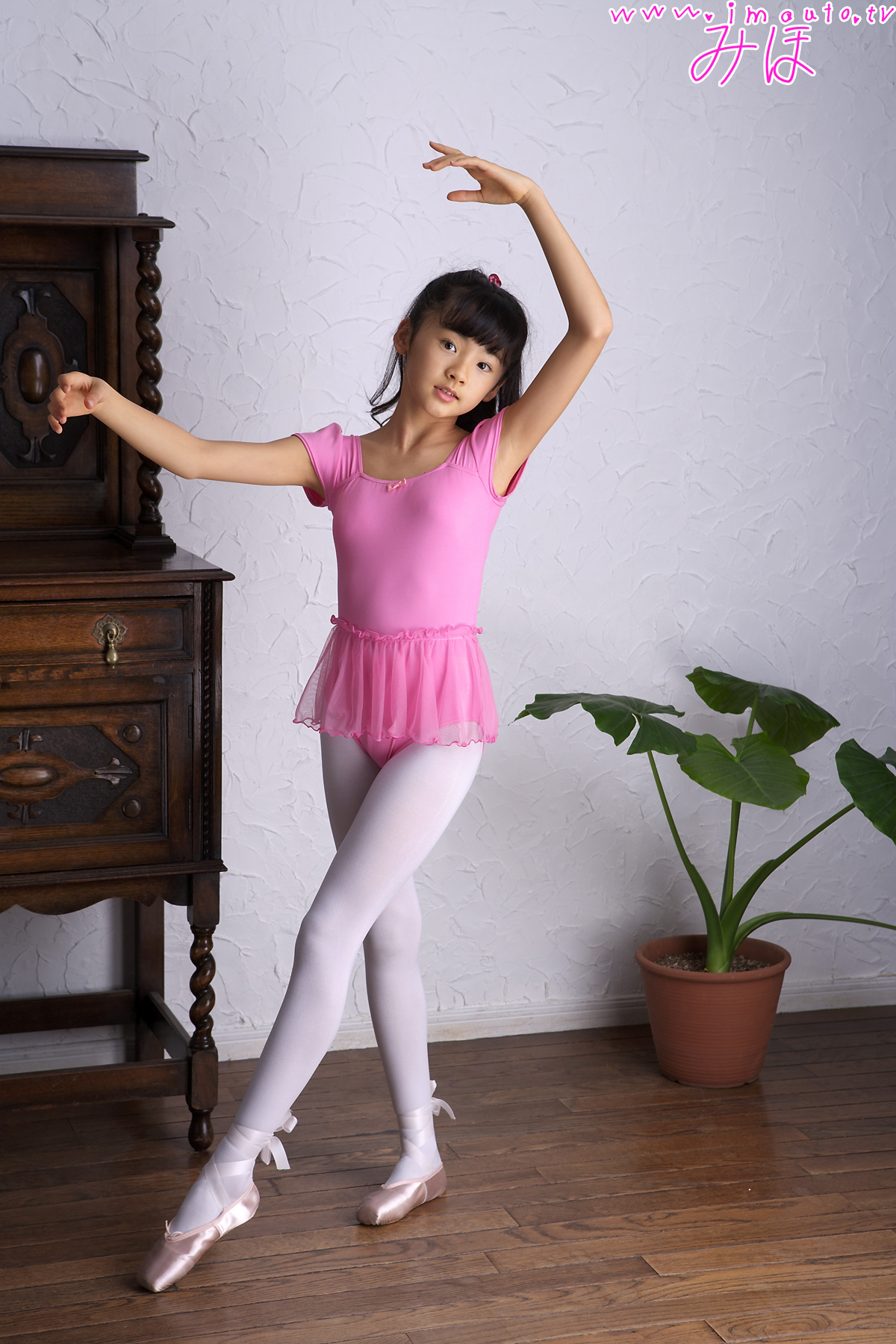 金子美穗跳芭蕾舞-亚洲童星-可爱小女孩 - powered by